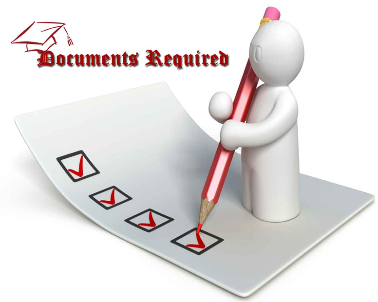 Documents Required For Admission